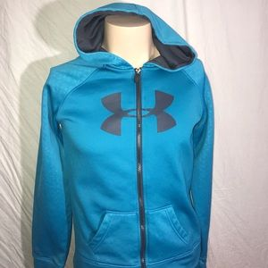 Under Armour full zip hoodie size youth XL